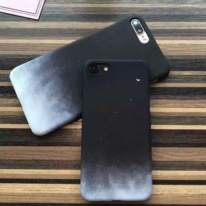 NEW iPhone Max/XR/X/XS/7/8/Plus Moon Hard Case